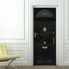 Door makeover with dc fix