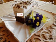 Gaštanové kocky (fotorecept) - recept | Varecha.sk Rum, Cake, Food, Kuchen, Essen, Meals, Rome, Torte, Cookies