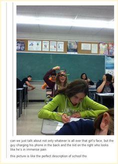 Oh school....
