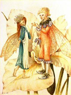 Сказочные Иллюстрации: Сказки - Дюймовочка