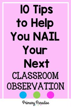 Teacher Observations: Tips to help new teachers and veteran teachers have successful classroom observations with their administrators. Back To School Organization, Teacher Organization, Teacher Hacks, Teaching Activities, Teaching Reading, Teaching Ideas, First Grade Reading, First Grade Math, Words For Teacher