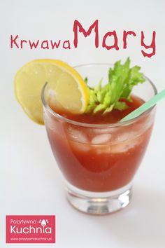 #drink Krwawa Mary - #przepis na bloody Mary krok po kroku  http://pozytywnakuchnia.pl/krwawa-mary-bloody-mary/  #kuchnia