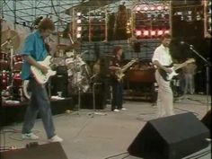 Eric Clapton & Phil Collins - White Room,  Shes Waiting and Layla (Live Aid 1985). When Phil Collins appeared at this concert in Philadelphia it was amazing, he flew over to the U.S. gig on concorde after his set at the London Live Aid.