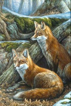 """""""At The Den"""" by Laura Mark-Finberg"""
