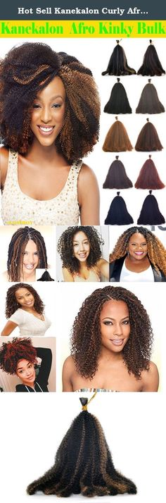 Hot Sell Kanekalon Curly Afro Kinky Bulk Extension Hair for Braiding COLOR Dark Copper Red #1B/#27 LENGTH 12'' Three Pack Deal!!!. Product Description: Kanekalon Afro Kinky Bulk Extension Curly Hair for Braiding Company Introduction: eCowboy is an emerging well-known Brand name in the US, supply Remy and Premium grade hair products including Straight, Body Wave, Jerry Curl, Loose Wave, Deep Wave hair weave extensions and closures. Hair length 18 ''- 24''; Pack options, single piece, mixed...