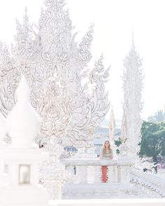 Working late tonight editing photos for this week's blog posts! This week on the blog I'll be sharing all about our trip to Chiang Rai Thailand including our trip to the white temple
