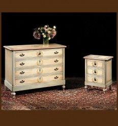 Comoda Vintage Pictata Carloti - Mobila Pictata Lemn Masiv Stil Vintage, Dresser, Projects To Try, Antiques, Furniture, Home Decor, Bedroom, Antiquities, Powder Room