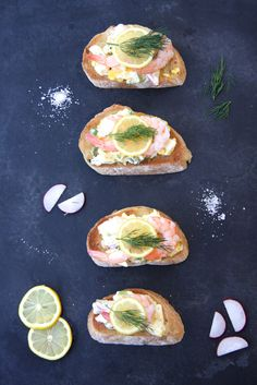 Egg Salad Tartine | SEE Salt  What we will be doing with our leftover Easter eggs.
