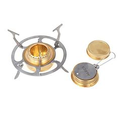 EverTrustTM2014 ALOCS Outdoor Camping Stainless Steel Folding Mini Alchohol Stove Portable Spirit Burner ** Want to know more, click on the image.