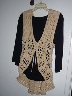 """Saw Aimee, one of the """"Junk Gypsies"""" on HGTV wearing this & had to make it!"""
