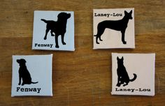 Custom Pet Magnets by SimplyAmericanDesign on Etsy, $8.00