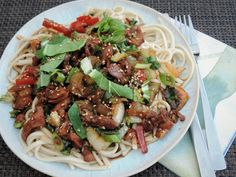Noodle Wok, A Food, Food And Drink, Japanese Sushi, Asian Recipes, Ethnic Recipes, Healthy Sandwiches, Mediterranean Recipes, Curry