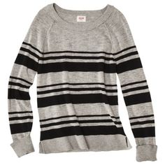 Mossimo Supply Co. Juniors Long Sleeve Pullover Sweater - Assorted Colors