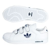 Adidas Stan Trefoil Comfort Trainers - White/New adidas Stan Trefoil Comfort Trainers - White/New Navy/White - Kids. http://www.comparestoreprices.co.uk/trainers/adidas-stan-trefoil-comfort-trainers--white-new.asp