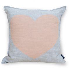 Just love your precious heart cushion cover in peach