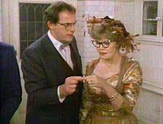 Professor Plum and Mrs. Peacock in the movie 'Clue'