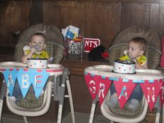 Life With Both Hands Full: Dr. Suess Thing 1 and Thing 2 Birthday Party