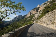 This road trip is a fabulous drive, a switchback of a journey that takes you all around the Gorges du Verdon in Provence, the French Grand Canyon.
