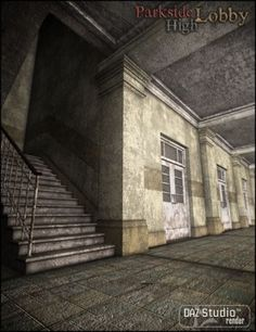 School model.  Textures are low quality, but good starting point.  $2