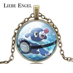 Find More Pendant Necklaces Information about LIEBE ENGEL Pokemon Popplio Necklace Pokeball Retro Glass Cabochon Statement Silver Color Chain Pendant Necklace Fine Jewelry,High Quality jewelry scarf necklace,China jewelry cases for necklaces Suppliers, Cheap necklace jewelry gift box from LIEBE ENGEL Official Store on Aliexpress.com