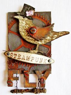 Steampunk At Anything But A Card. . . . . . .