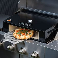 Forget boring hot dogs and burgers, how about grilling up some pizza for your bbq party? Just place the Outdoor Pizza Oven on your grill, add your favorite pie and your guests will be enjoying a delicious pizza in under 5 minutes!