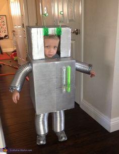 Robot - Halloween Costume Contest via @costume_works