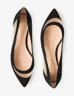 Flat Ballerina Shoes, Pumps-0