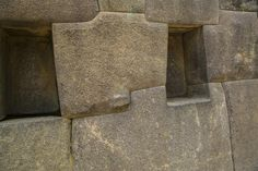 """Pax on both houses: Incan Stone Work. No Mortar. No """"Knifable"""" Clefts. Every Stone Cut Differently."""