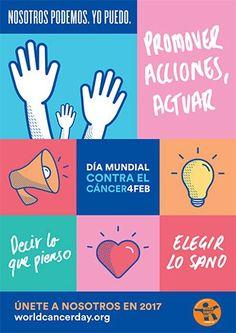 La incidencia del cáncer aumentará a 22 millones de casos anuales en veinte años #DíaMundialContraElCáncer #4deFebrero #CancerDay #NosotrosPodemosYoPuedo #cáncer