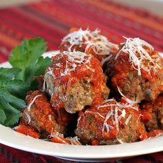 Classic Italian Meatballs...my personal favorite...great freezing results, too :)