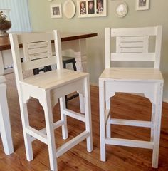 Vintage Bar Stools - DIY
