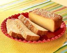 """Traditionally served as a coffee cake in El Salvador, """"quesadilla"""" cake isn't made with tortillas; it is more like pound cake than bread. Made primarily with freshly grated Queso Fresco cheese, rice"""