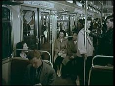 """Extracts and new editing a film RATP touting the """"new metro excavators"""" especially with shooting on the subway and Paris in the late 50s  has an excellent fashion dress, cars, the time of pubs for tobacco and alcohol.  what is said on the Metro comfort is sometimes uplifting ...  Paris et son nouveau métro, (fin des années 50)"""