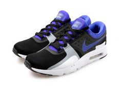 NIKE AIR MAX ZERO QS BLACK/PERSIAN VIOLET-WHITE #sneaker