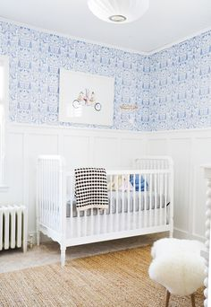 After 6 weeks of renovation, the space is complete! Come check out Francois Renovates' Nursery Before & After. Psst...there's a video!