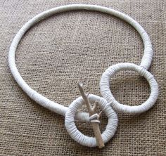circle+driftwood necklace by SeedAndStuff