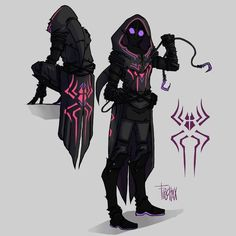 Go check out this amazing spidersona! Character Creation, Fantasy Character Design, Character Design Inspiration, Character Art, Character Reference, Character Concept, Spiderman Suits, Black Spiderman, Spider Art