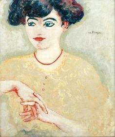 thunderstruck9:Kees van Dongen (Dutch, 1877-1968), Femme en...