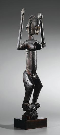 Statue, Dogon, Mali   lot   Sotheby's