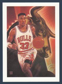 Scottie Pippen # 506 - 1991-92 Skybox Hoops Basketball