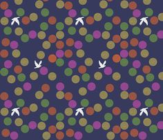 bird fabric by tamptation on Spoonflower - custom fabric