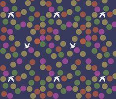 bird fabric by tamptation on Spoonflower - custom fabric