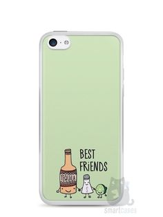 Capa Iphone 5C Tequila, Sal e Limão - SmartCases - Acessórios para celulares e tablets :)