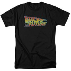 Back To The Future - Logo Short Sleeve Adult 18/1