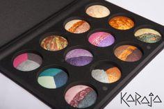 Karaja aqua Color  palette. www.karajashop.com
