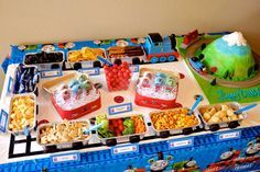 Thomas the Train Birthday Party Ideas   Photo 4 of 48   Catch My Party
