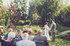 Melissa and Adam's $5,000 Backyard Wedding with 25 guests