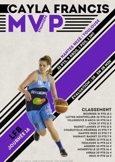 Cayla Francis - MVP Etrangère - LFB Journée #16