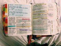 Bible Notes, My Bible, Bible Art, Bible Scriptures, Bible Study Journal, Art Journaling, Cute Bibles, Bibel Journal, Bible Doodling